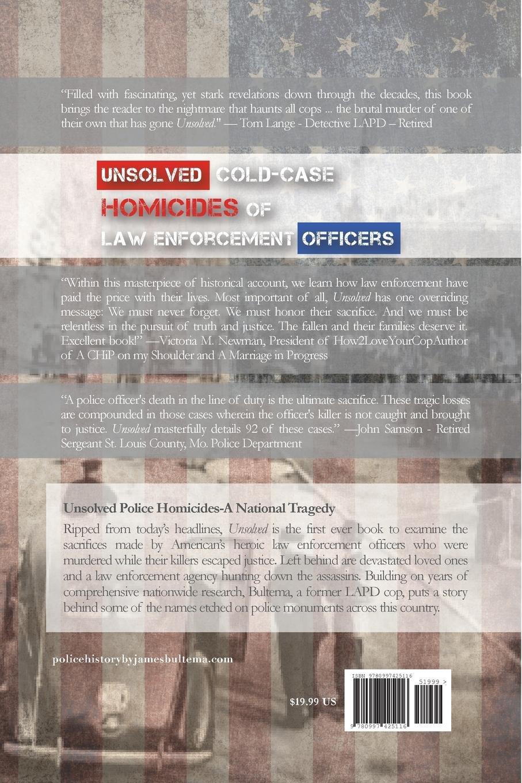 Unsolved Cold-case Homicides of Law Enforcement Officers