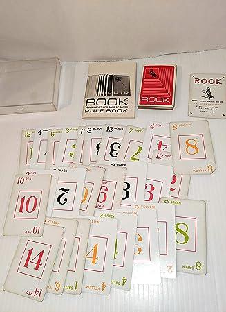 Rare 1972 Rook - Juego de Cartas (Caja roja en Estuche de plástico Duro): Amazon.es: Juguetes y juegos