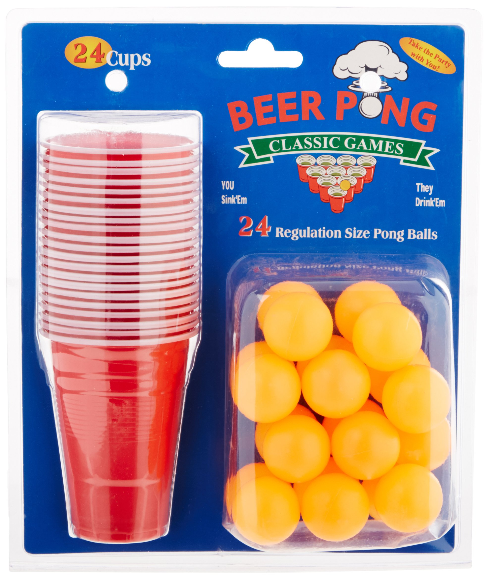 Creative Motion 24 Cups/Party Ping Pong Ball Game (14069-5)
