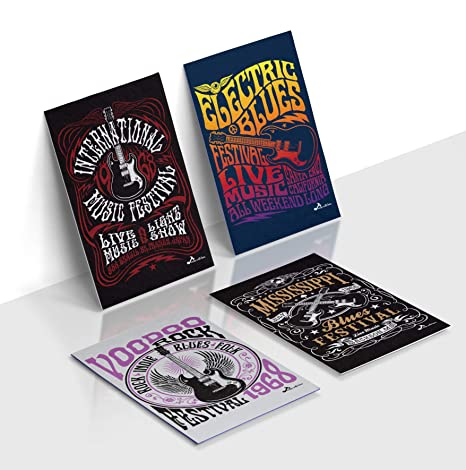 Rock and Roll Musical Instruments Posters, Poster Music of Festival  Concerts, Music Quotes Posters of Rock Festivals, Music Posters for  Classroom,