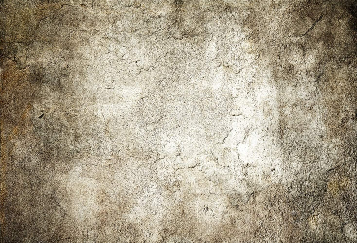 GoHeBe 10x7ft Grunge Dirty Crackled Wall Vinyl Photography Background Child Kids Adult Pets Artistic Portrait Retro Backdrops Clothes Product Shoot Nostalgia Studio Photo Props
