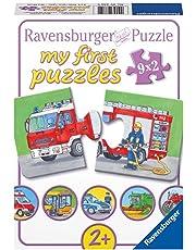 Ravensburger 07332 - Einsatzfahrzeuge, my first puzzles 9x2