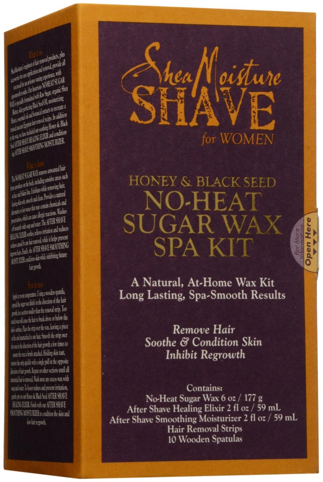 SheaMoisture Women's Honey & Black Seed Shave Kit - 12 oz by Shea Moisture