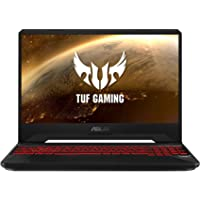 "ASUS TUF Gaming FX505GD-BQ326T - Portátil Gaming de 15.6"" FHD (Intel Core i7-8750H, 8 GB RAM, 1 TB HDD, NVIDIA GeForce GTX1050 4 GB, Windows 10 Home) Negro (Red Matter) - Teclado QWERTY Español"