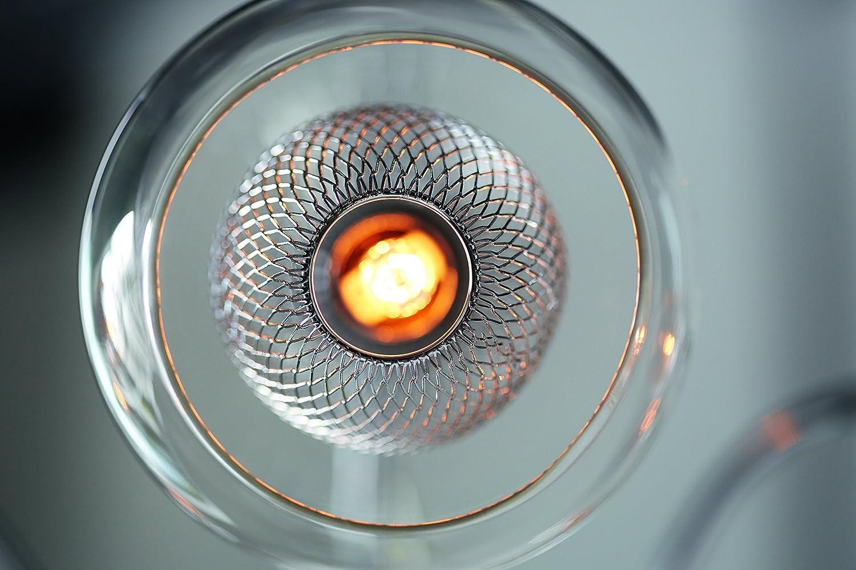 1 Lampadina Attacco G9 Lampadina Inclusa Salotto Philips Coda Lampada da Soffitto Plafoniera per  Soggiorno Design Moderno