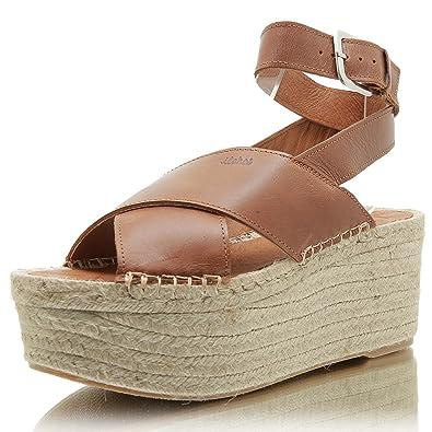 0fa57778ace Alohas Vegas Wedge-Camel  Amazon.de  Schuhe   Handtaschen
