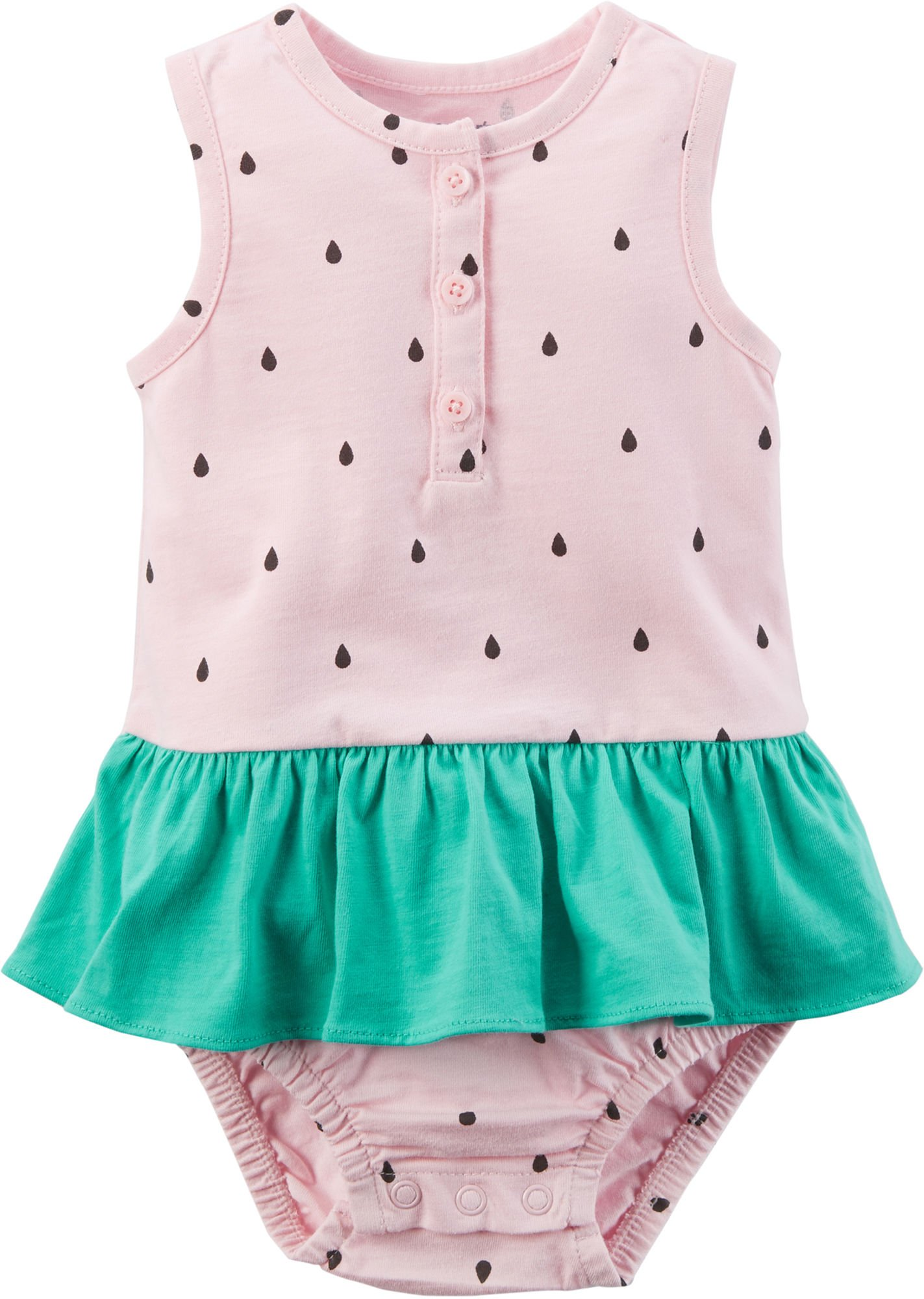 Carter's Baby Girls' Watermelon Sunsuit 9 Months