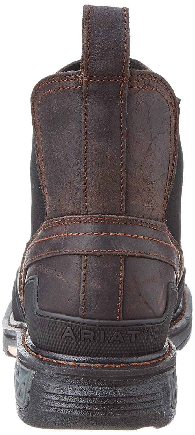 b693e4bca7b Ariat Men's Overdrive Tradesman Ankle Boot, Coffee, 14 2E US: Amazon ...