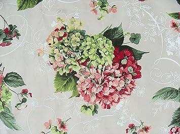 Blumen Landhausstil blumen stoff vintage stoff landhausstil blumen hortensie 280 cm
