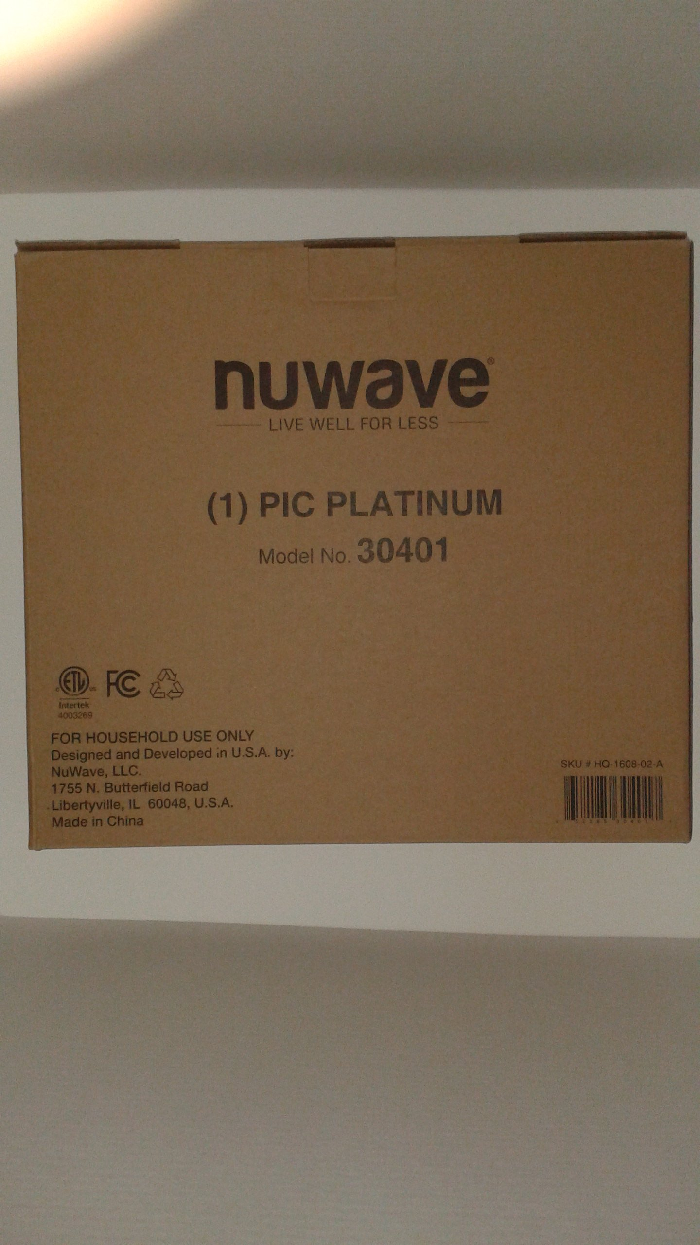 NuWave Platinum 30401 Precision Induction Cooktop, Black with Remote and Advanced Features for 2017 by NuWave (Image #9)