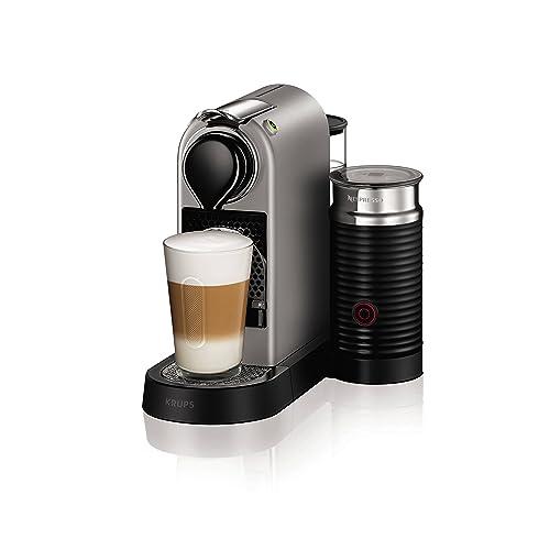 Nespresso XN760B40 Nespresso Citiz and Milk Coffee Machine, 1710 W, Silver by Krups