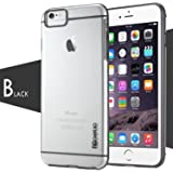 iPhone 6 / iPhone 6S Case - Poetic [Atmosphere Series] - [Lightweight] [Slim-Fit] Slim-Fit Tranparent Hybrid Case for Apple iPhone 6 /iPhone 6S 4.7inch Clear/Gray (3 Year Manufacturer Warranty From Poetic)