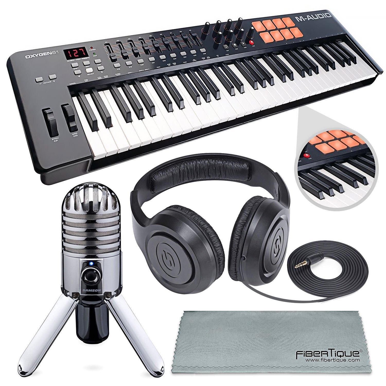 M-Audio Oxygen 49 MKIV Reviews - 49-Key USB MIDI Keyboard 1