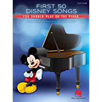 First 50 Disney Songs You Should Play on the Piano book cover