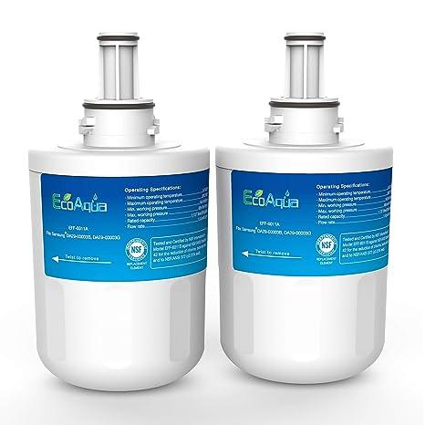 Compatible Samsung RS21DABB Nevera Filtro de agua - la sustitución interna para Samsung HAFIN / EXP (2)