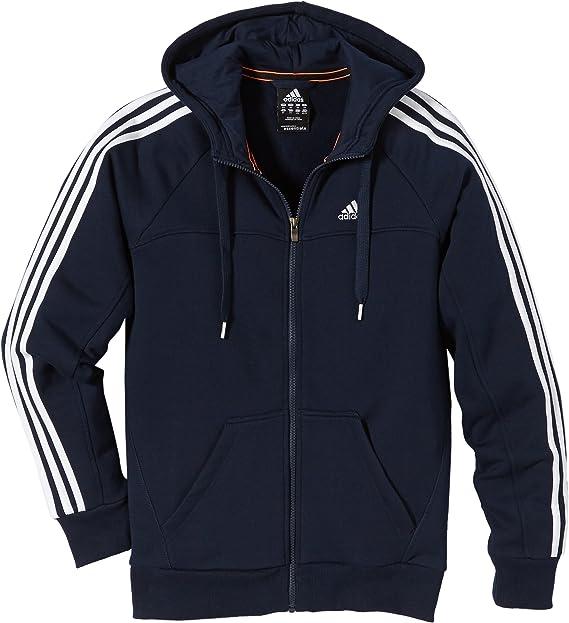 adidas herren kap jacke essentials 3 stripes kapuzenpullover