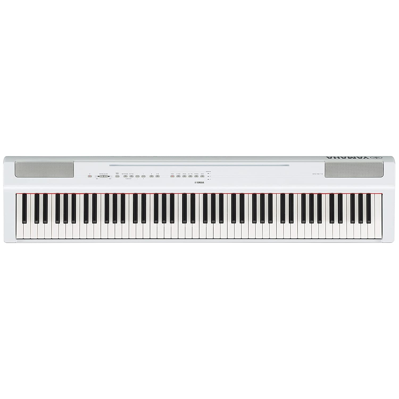 Yamaha P-125WH - Piano digital, color blanco: Amazon.es: Instrumentos musicales