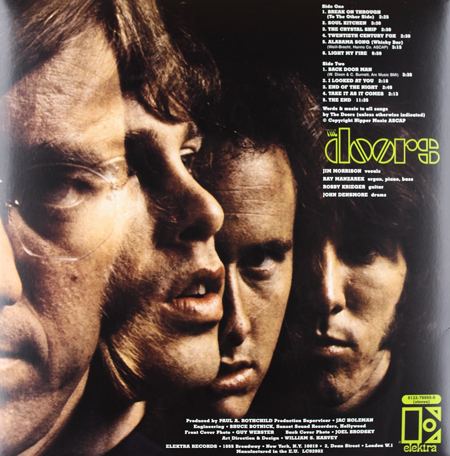 & The Doors - The Doors (180 Gram Vinyl) - Amazon.com Music