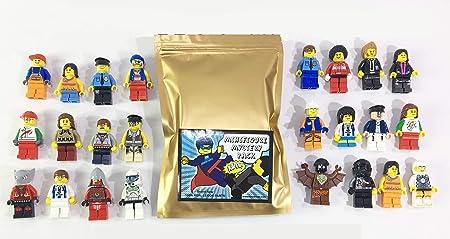 12 Random Lego Minifigures
