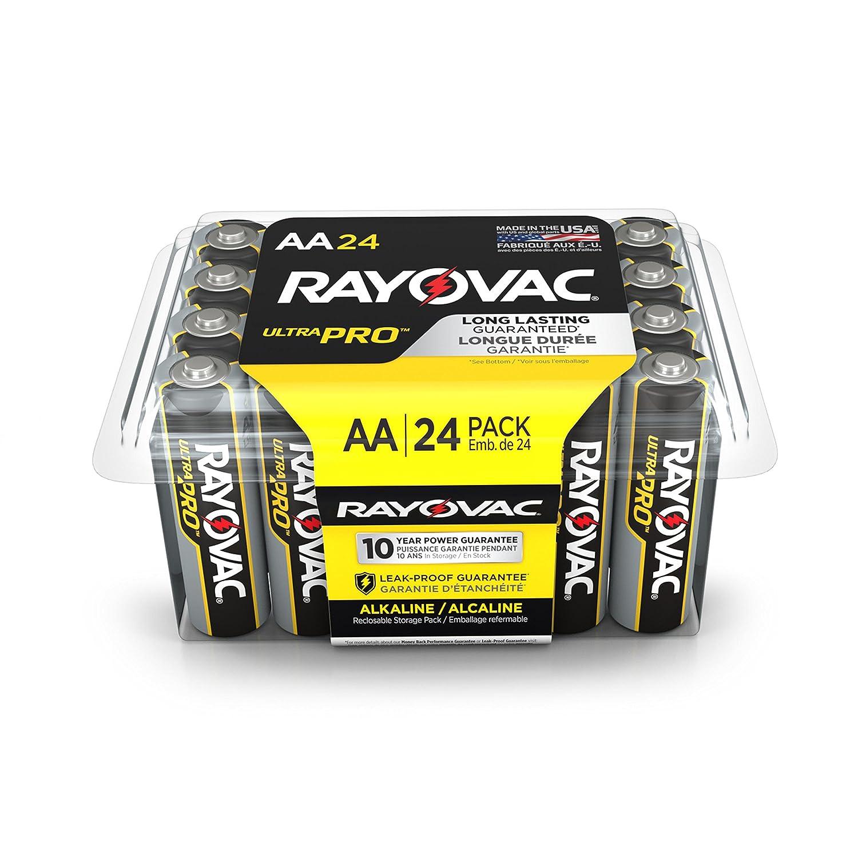 Rayovac ALAA-24 UltraPRO Alkaline AA Batteries, 24-Pack ALAA-24PPJ