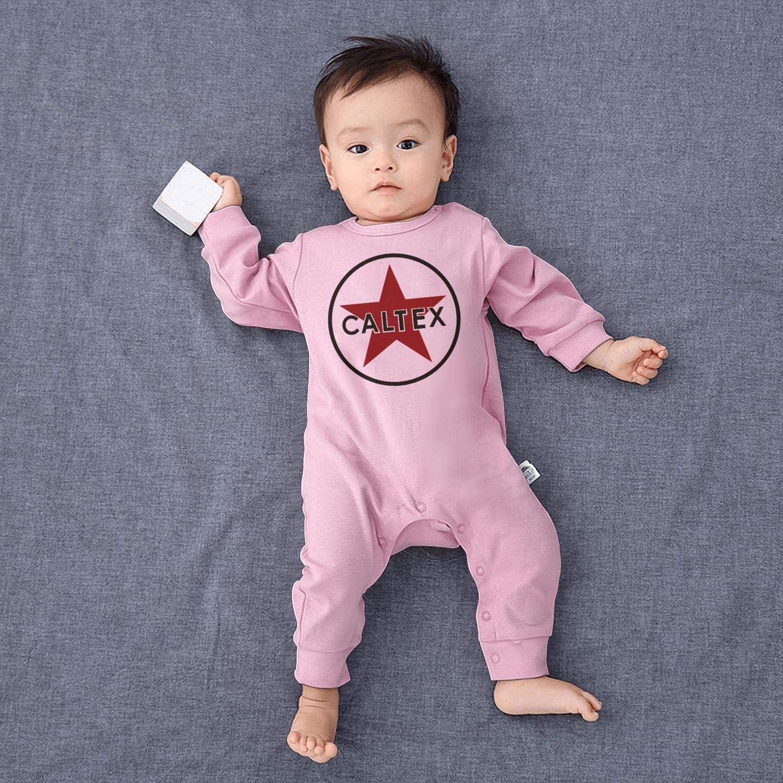 Baby Boys Girls Long Sleeve Baby Onesie Funny Onesies NIANLJHDe Caltex-Logo-Sign