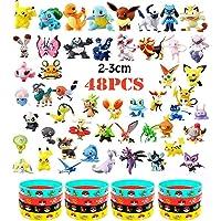 OMZGXGOD - 48 Piezas Pokemon Pikachu Monstruo Mini