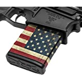 GunSkins AR-10 Mag Skin - Premium Vinyl Mag Wrap with Precut Pieces - Easy to Install and Fits 20/25 rd Magazines - 100…