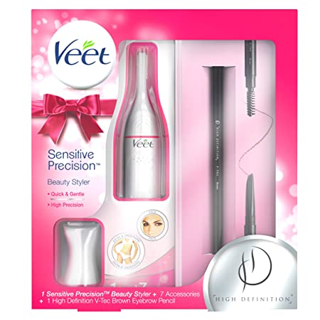 Veet Haarentfernungs empfindliche Präzision Beauty Styler Geschenk Pack
