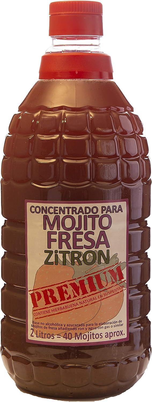 Zitron Concentrado Mojito de Fresa - 2 L: Amazon.es ...
