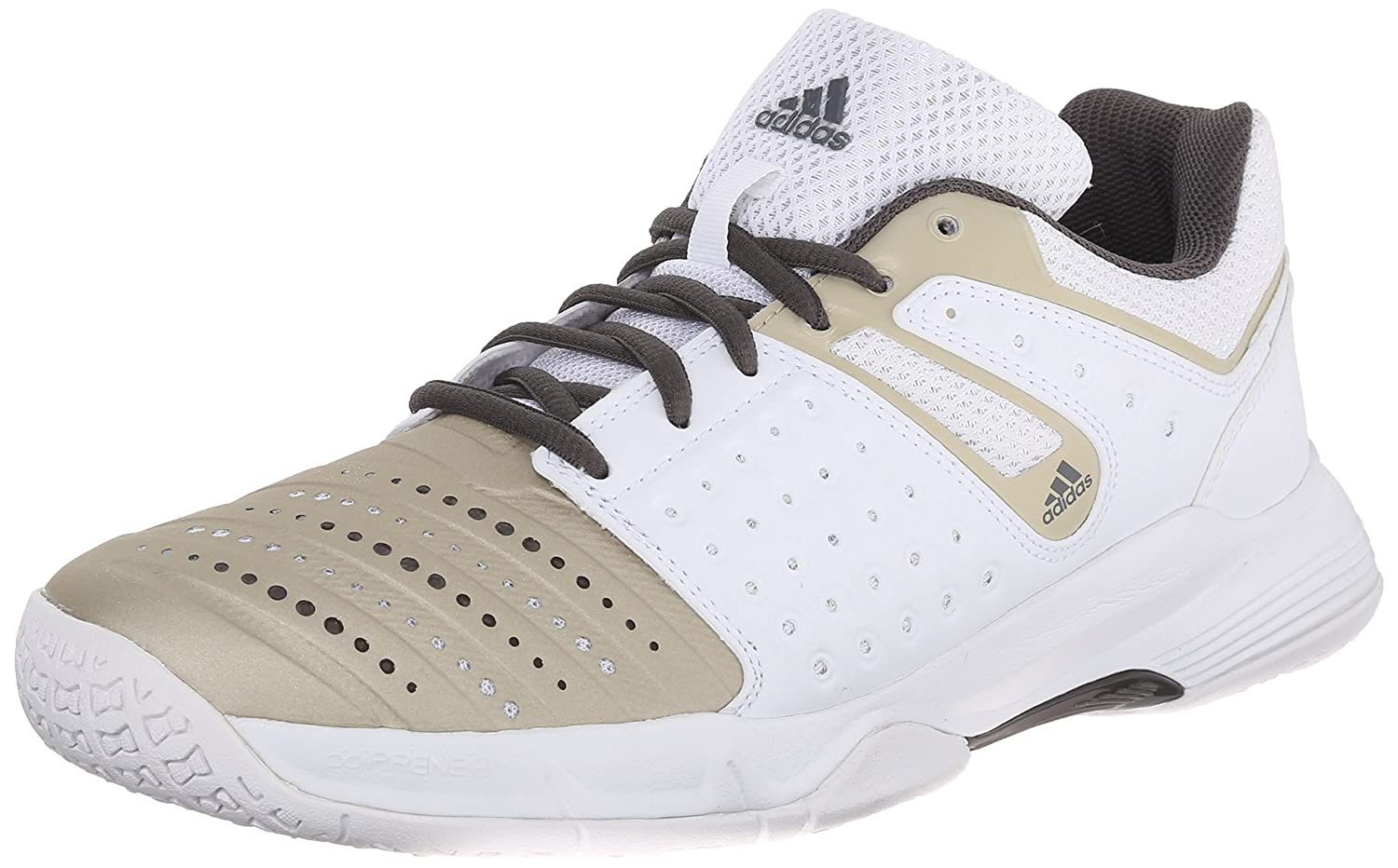 d6d1940043e5f9 ... inexpensive adidas performance women s court stabil 12 w volleyball shoe  white star metallic grey 8.5