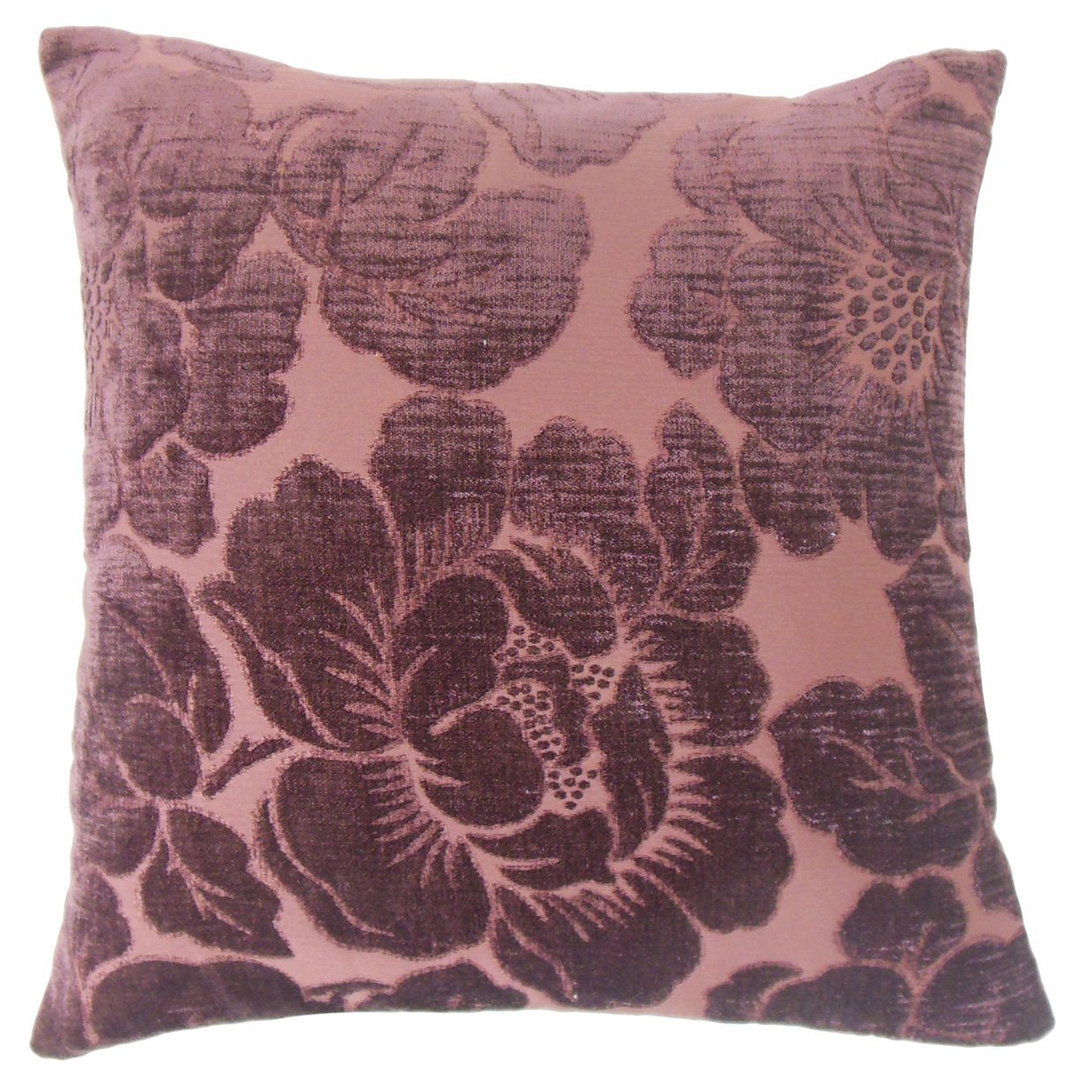 The Pillow Collection Cenobia Floral Throw Pillow Cover Home Kitchen Throw Pillow Covers