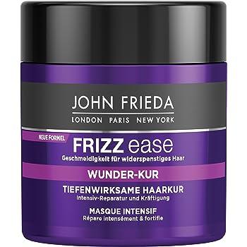 Eine gute Haarkur bekommen Sie bei dem Hersteller John Frieda.