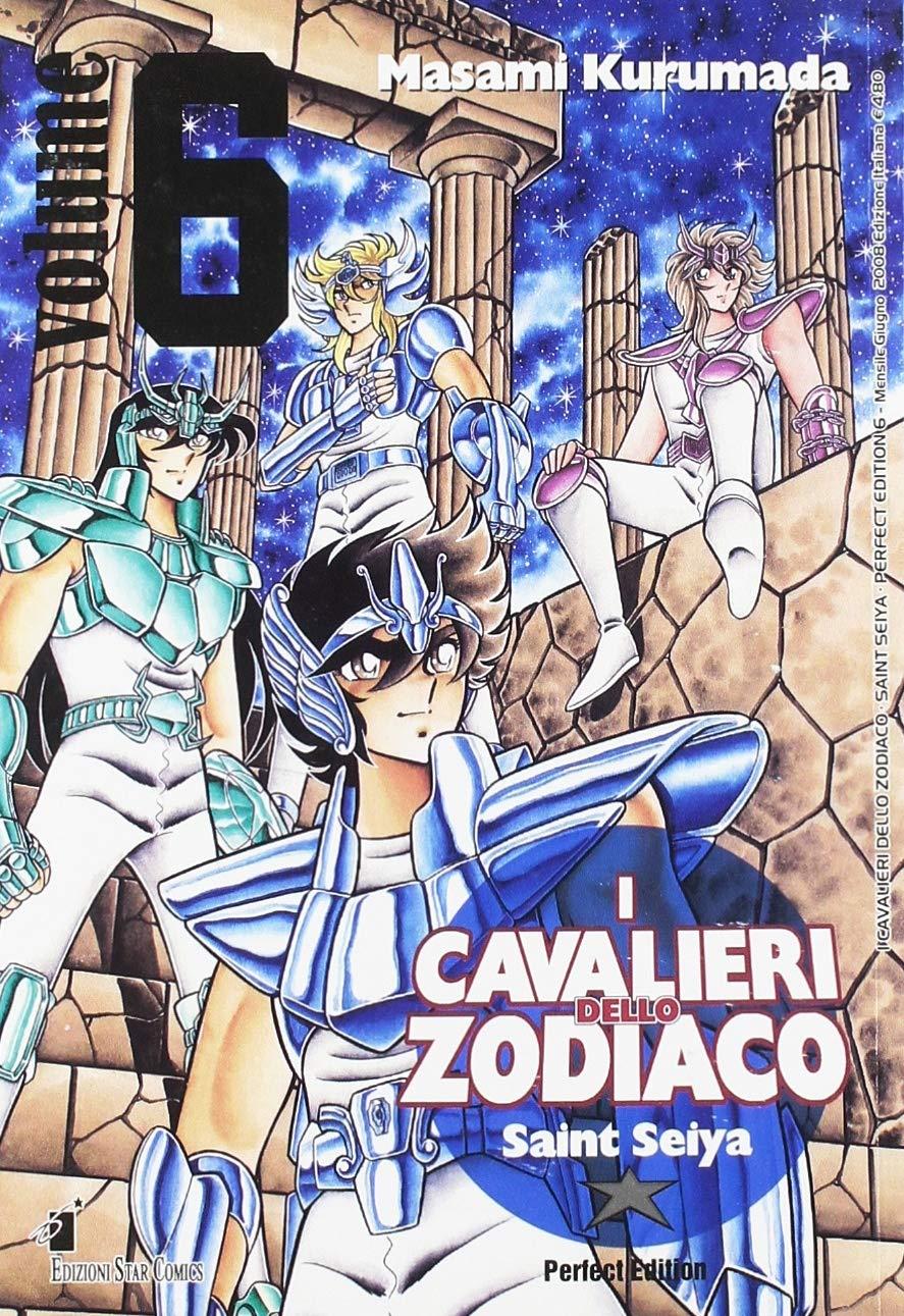 saint seiya cavaliere zodiaco italiano