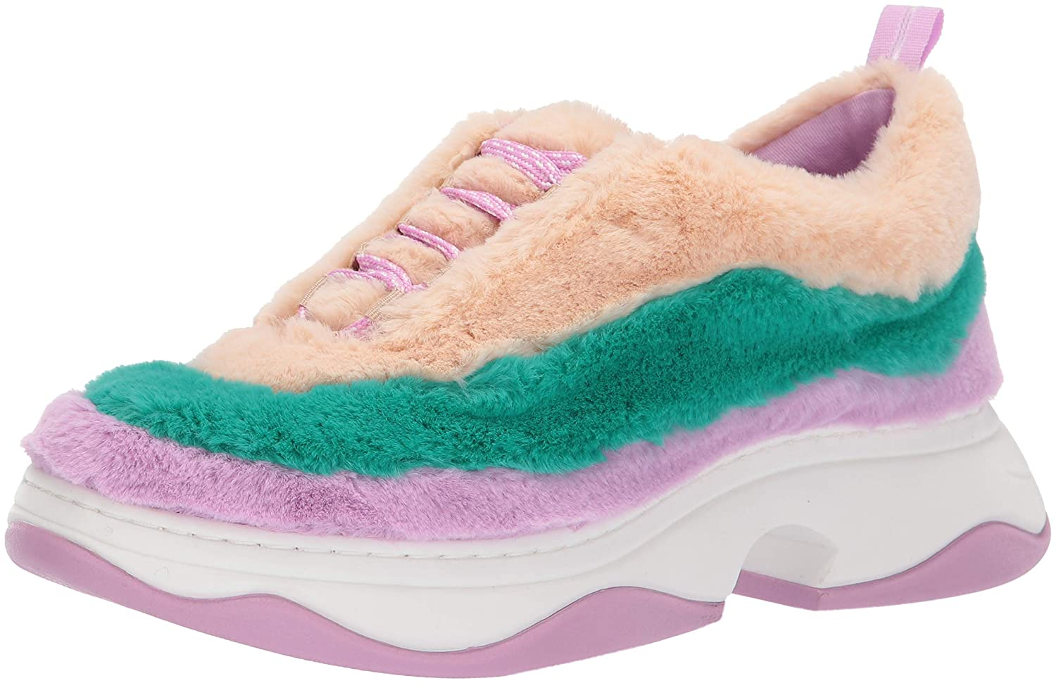 Ltv Turquoise. Nude Katy Perry Womens The Fuzz Sneaker