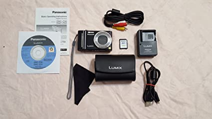 amazon com panasonic lumix dmc zs6 12 1 mp digital camera black rh amazon com