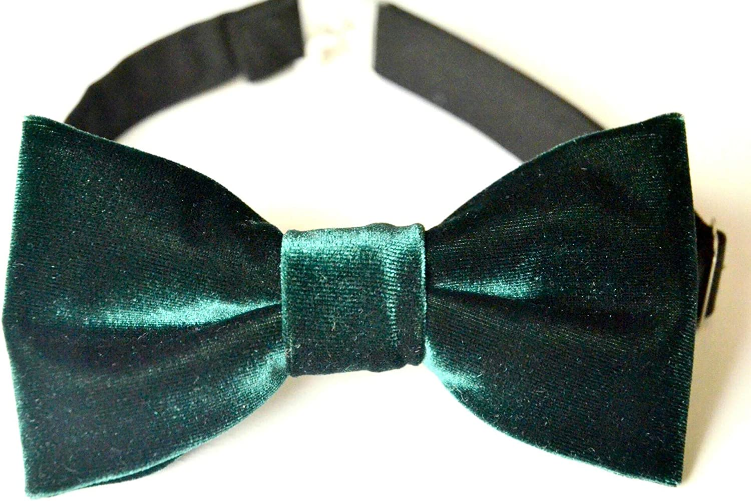 USED Bow Tie Pretied GREEN TEAL