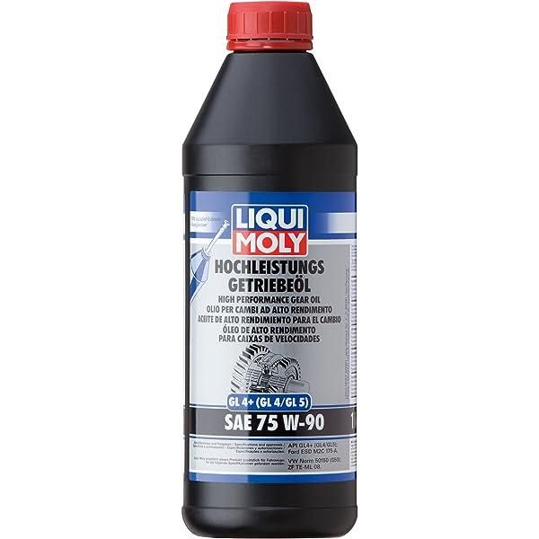 Liqui Moly 4434 Aceite de Alto Rendimiento Para el Cambio, GL4+, SAE, 75W-90, 1 L: Amazon.es: Coche y moto