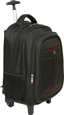 Amazon Com City Bag Hybrid Laptop Trolley Wheeled Backpack Rolling 15 4 Computer Bag Hand Luggage Clothing