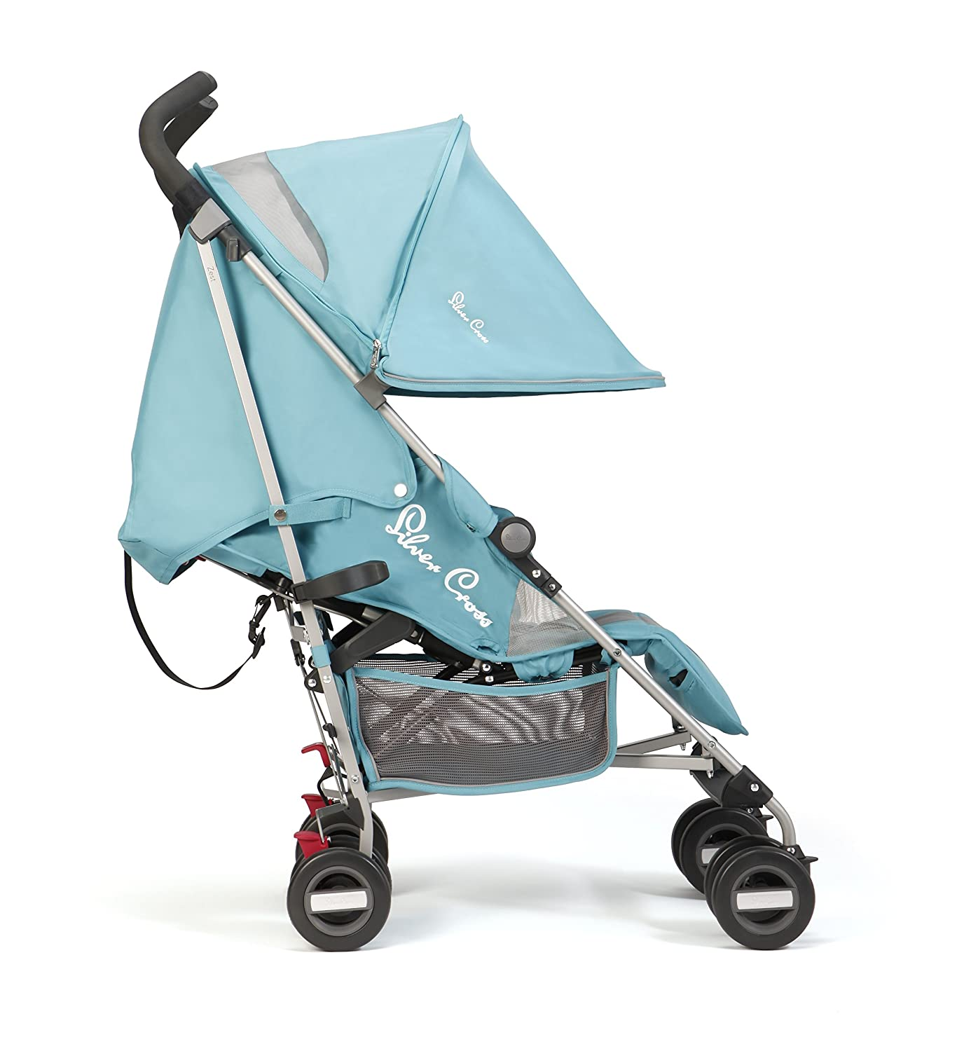 Silver Cross Zest Stroller Black