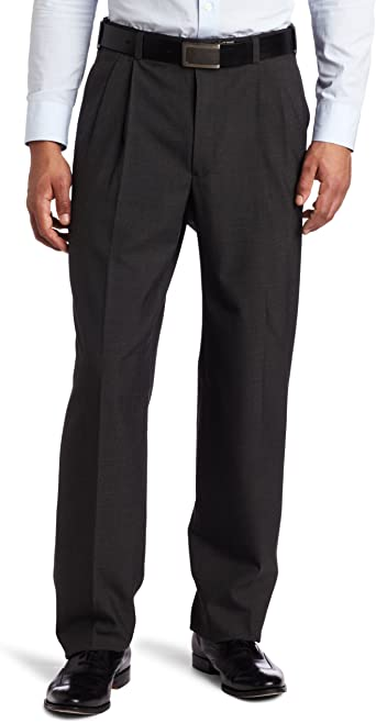 Austin Reed Men S Dress Pant Charcoal Grey 32 Regular At Amazon Men S Clothing Store Business Suit Pants Separates