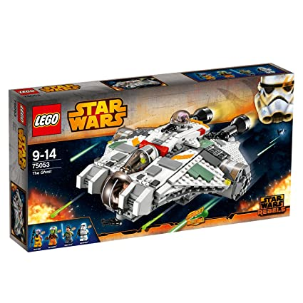 Amazon.com: LEGO® Star Wars™ Rebels The Ghost Starfighter w/ 4 ...