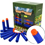 "EKIND 100Pcs ""Standard"" Darts for Nerf N-Strike Elite Blaster (Bule)"