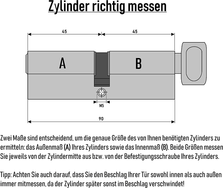 Schlie/ßanlage nach Wunsch kombinierbar selbst zusammenstellen Vorh/ängeschloss