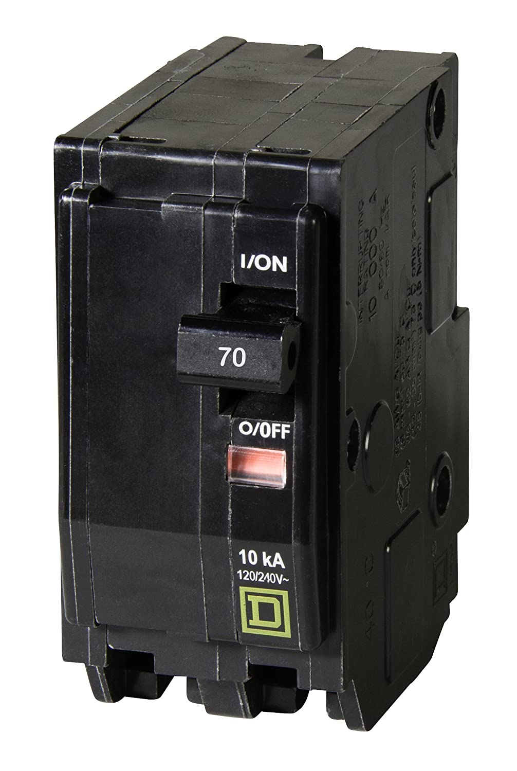 Square D By Schneider Electric Qo270cp Qo 70 Amp Two Pole Circuit Breaker Types Video Different Of Breakers Ehow