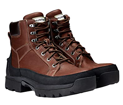 e5ae8a214aea4 Hunter Women s Balmoral Leather Lace up Boots (6 ...