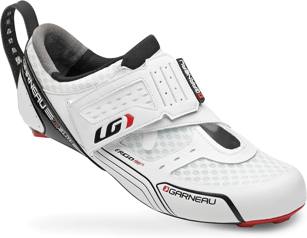 Louis Garneau - Zapatillas de Ciclismo para Hombre Blanco Weiß ...