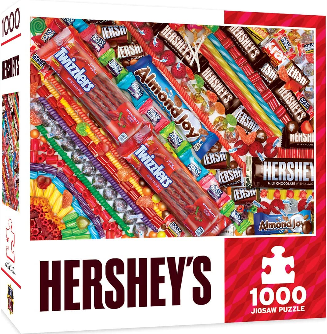 MasterPieces Hershey's 1000 Puzzles Collection - Hershey's Sweet Tooth Fix 1000 Piece Jigsaw Puzzle
