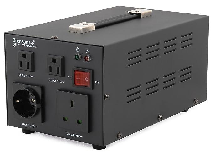 6 opinioni per Bronson++ AVT 1500- Convertitore di tensione 110/120 Volt- Trasformatore di