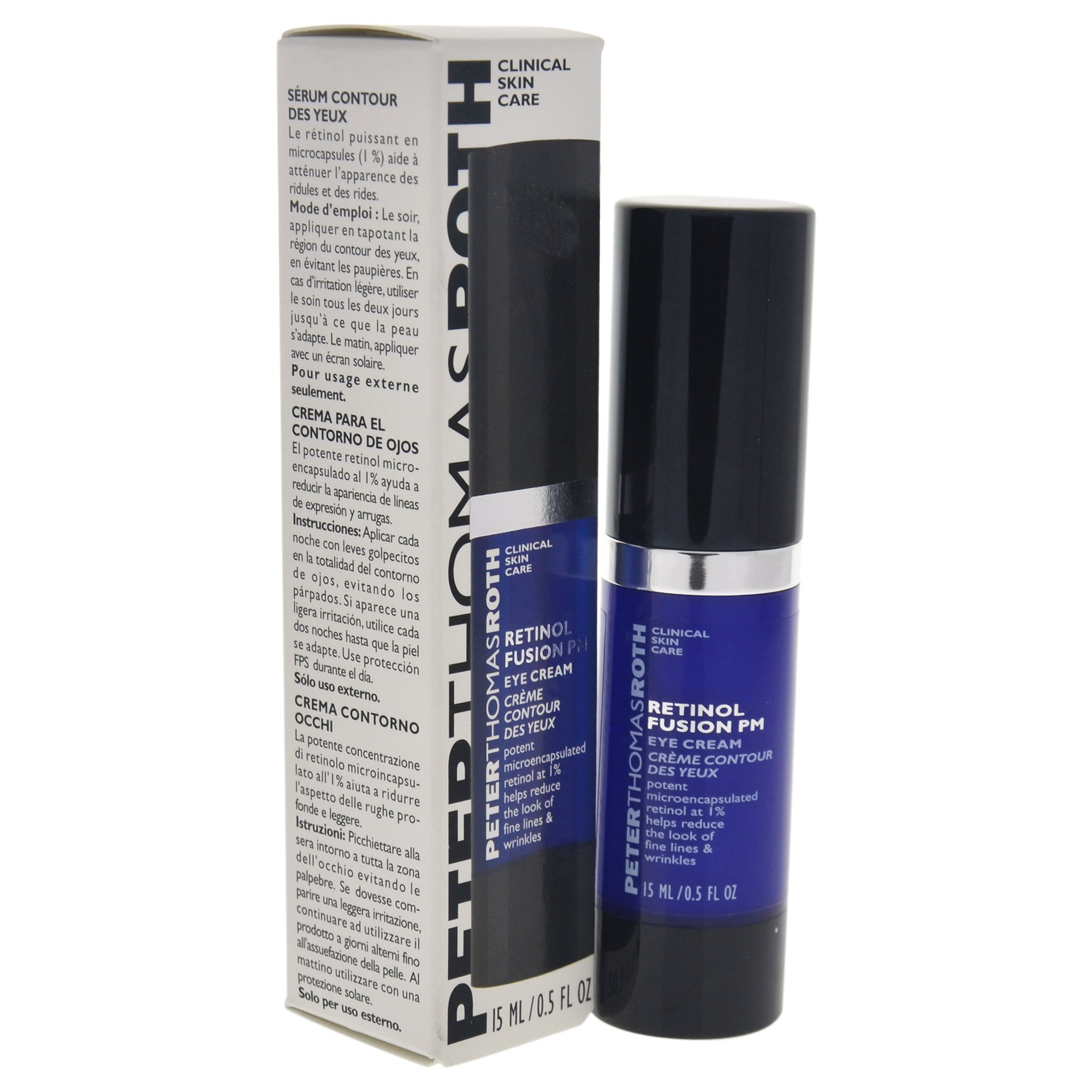 Peter Thomas Roth Retinol Fusion PM 1 Fluid Ounce MEDIHEAL Circle Point Golden Chip Mask (Brightening and Anti-Wrinkle)