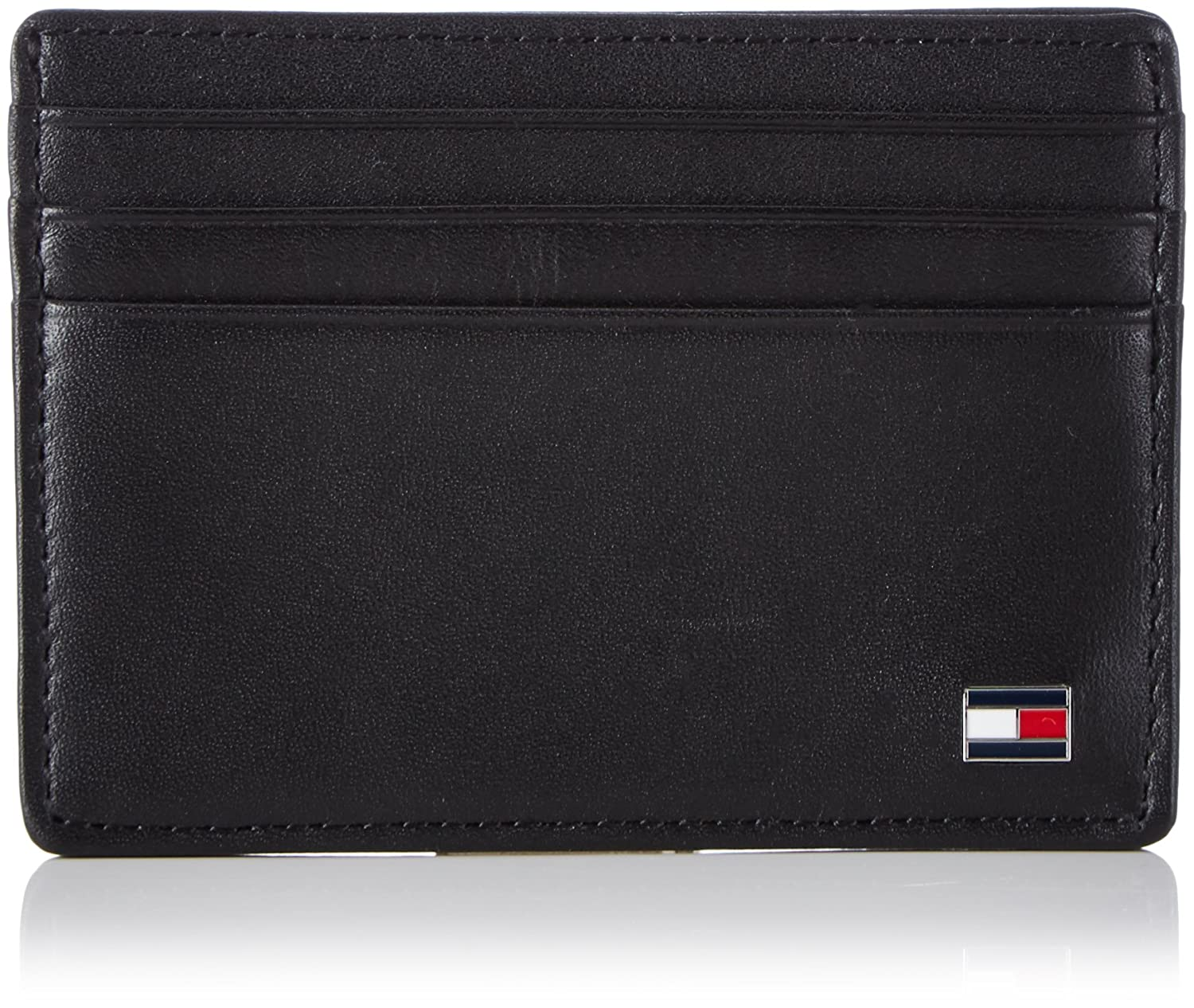 Tommy Hilfiger Credit Card Black Men Catera eton cc holder black (black 2)